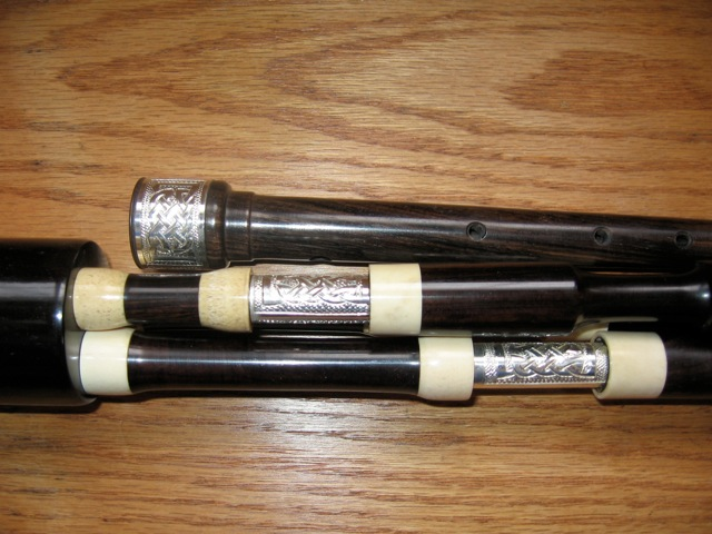 African Blackwood / Silver Smallpipes